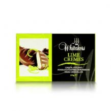 Whitakers Plain Chocolate Lime Cremes 150g
